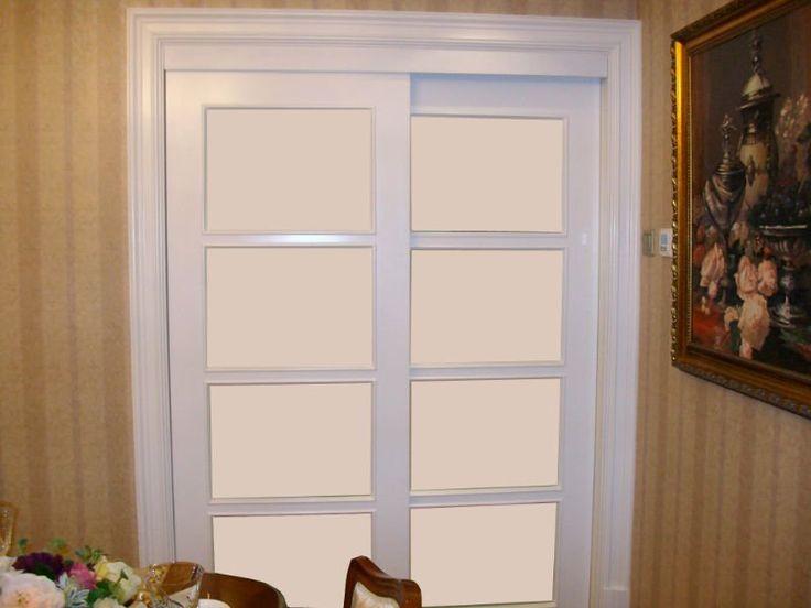 Sliding french doors indoor for Indoor sliding french doors