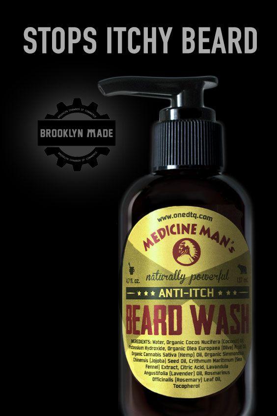 Medicine Man's Itchy Beard Wash in 2019   Celebrity Beard Styles
