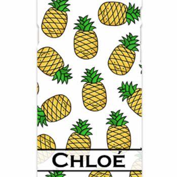 HunniBunni Happy Pineapple Personalised Phone Case