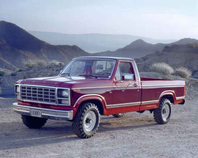 Pictures of Classic Ford Pickup Trucks: 1980 Ford F-250 Pickup Truck