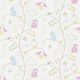 Sanderson Going Batty Wallpaper - 214017