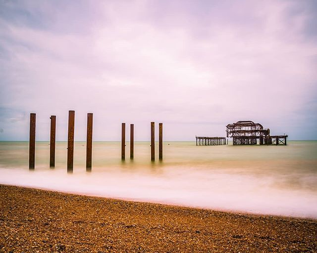 On Friday I was in Brighton early morning and gave me the chance to take a photo of the West Pier. I wanted to try a longer exposure to smooth out the water and see what it would look like.  This was taken using a Nikon D610 tripod 10 stop ND filter and a 20-second exposure.  I quite like the way it's come out.  #Photalife #MySundayPhoto #WestPier #nature_specialist #VisitBrighton #ig_landscape #natureseekers #earthoutdoors #landscapelover #landscape_capture #photosofbritain #exploretocreate…