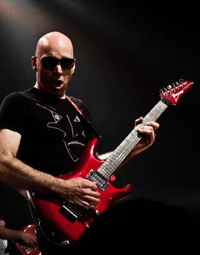Joe Satriani the most technical rock style guitaris