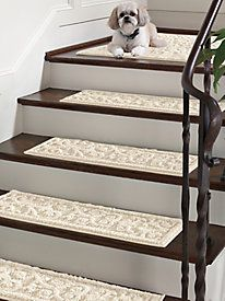 Stair Treads, Stair Runners, & Non Slip Carpet Stair Treads | Solutions