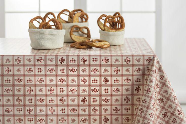 Tovaglia in plastica pvc con tessuto non tessuto, ideale per ricoprire e proteggere i vostri tavoli.