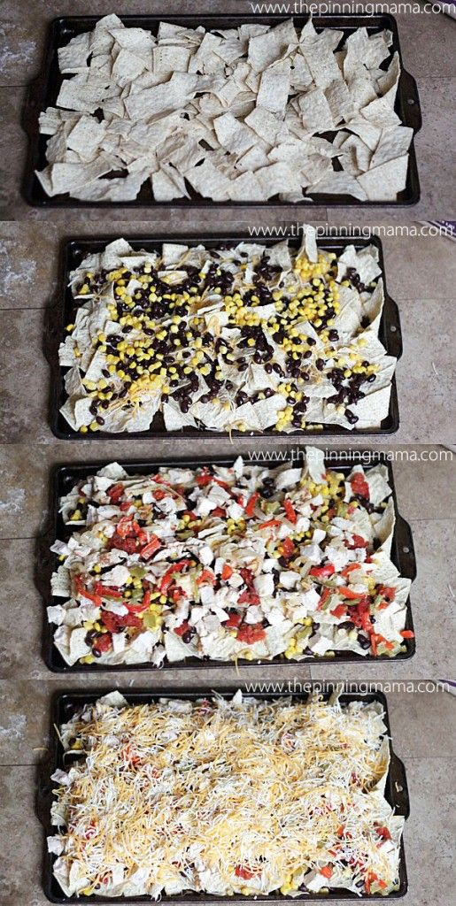 You don't even feel guilty eating Nachos when they are packed with this much healthy stuff!  Making this tonight!