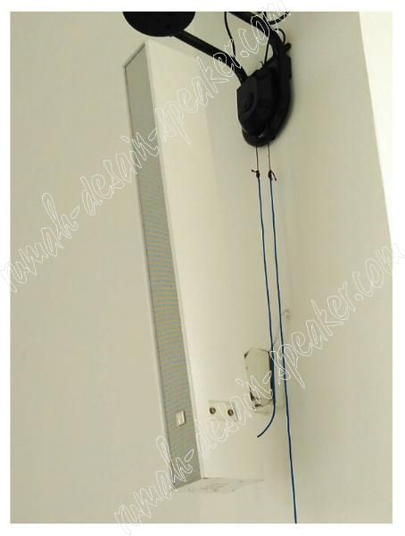 Jual beli TOA Slim Array Speaker ZS-S60CW (60 Watt) di Lapak Rumah Desain Speaker - rumah_speaker. Menjual Speaker - TOA Slim Array Speaker ZS-S60CW (Output 60 Watt) Low FeedBack  Terdiri dari 8 bh speaker memungkinkan untuk ruangan yang besar dan tinggi sehingga resiko gema. Suara bisa menyebar, titik terdekat dan terjauh tidak terlalu beda SPL nya. Cocok untuk dipasang di Aula, Masjid dengan kubah yang tinggi tetapi tidak terlalu luas, jika lebih luas gunakan ZS-S240 yang lebih besar…