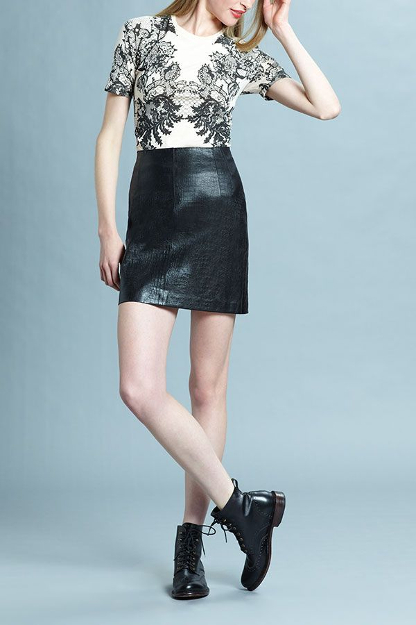 What's your skirt style... are you all about leather?