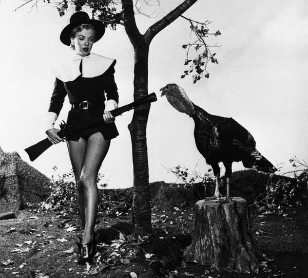 Marilyn Monroe Thanksgiving X MarilynMonroe
