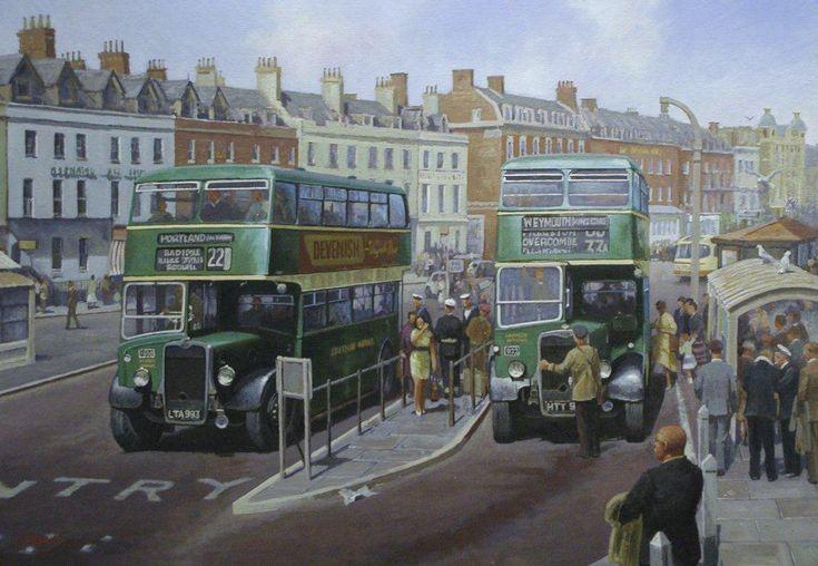 Bristol K's at Weymouth » Transport Artist