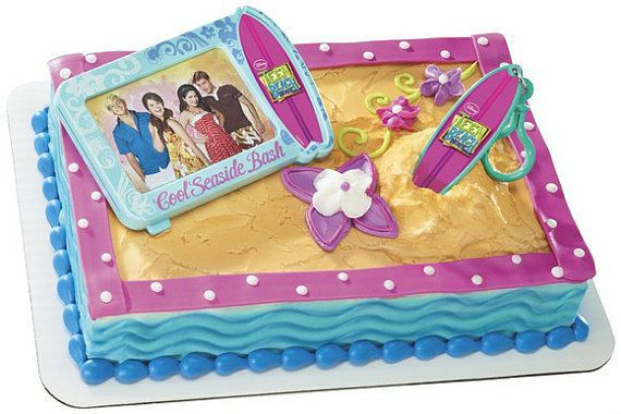 Disney Teen Beach Movie Cake Decoration by sweetcreationsparty, $8.75
