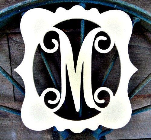 Best 25+ Framed Monogram Letters Ideas On Pinterest