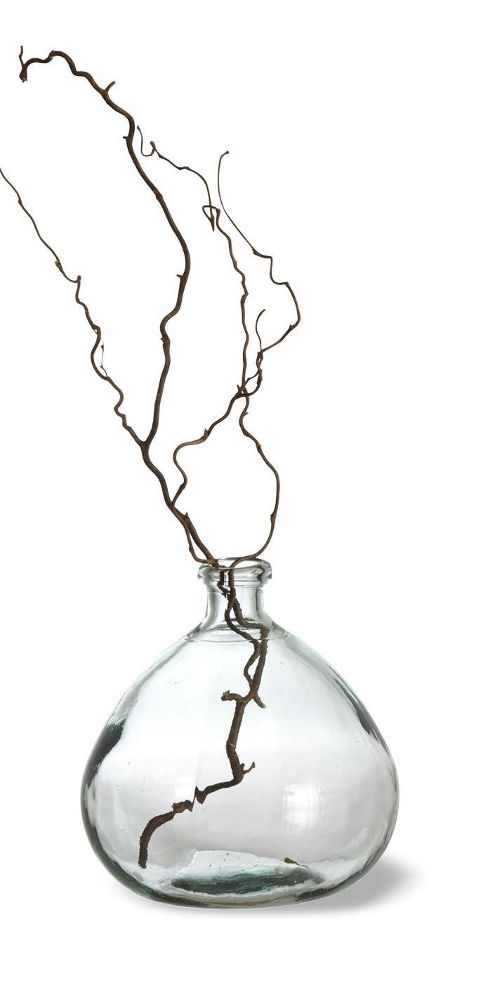 Vase bonbonne en verre recyclé CAPSULE DECO