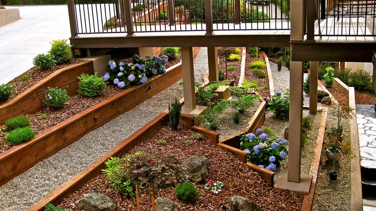 Hillside Terracing San Diego Landscape Sloped Garden