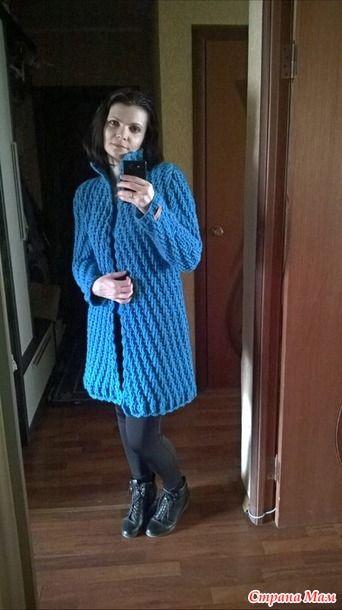 Здравствуйте, дорогие рукадельницы! Вот пришла к вам с новой работой. Это думаю всеми узнаваемое пальто по мотивам Полины Крайновой.