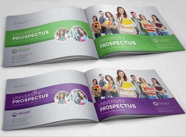 Elegant Brosur Sekolah   College University Prospectus Brochure Template | Contoh  Brosur Sekolah Pendidikan Free Download Templates | Pinterest | Brochure  Template, ...