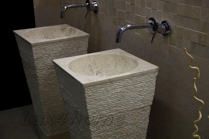 die besten 20 steinwaschbecken ideen auf pinterest waschtisch set sockel waschbecken. Black Bedroom Furniture Sets. Home Design Ideas