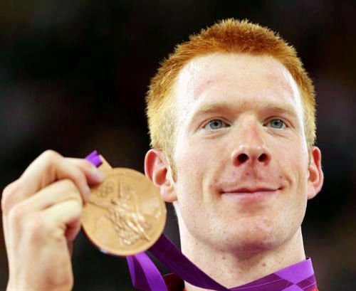 Team GB Medals 2012  33. Ed Clancy - BRONZE  (Cycling, Track: Men's Omnium)
