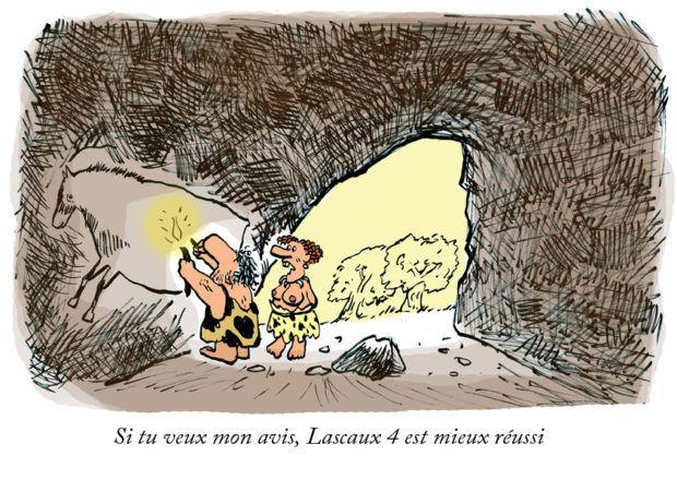 Lascaux 4 : le passé c'était mieux avant Lascaux 4 ce n'est pas le titre d'un nouveau blockbuster ! Quoique ? Nul doute que cette nouvelle copie de la célèbre grotte saura attiré les foules après son inauguration le 15 décembre 2016 en présence de François Hollande, président qui, à l'instar de son prédécesseur corrézi... https://www.unidivers.fr/lascaux-4-grotte-inauguration/ https://www.unidivers.fr/wp-content/uploads/2016/12/lascaux-4_dessin