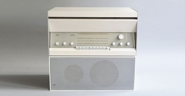 Braun Atelier 3/Braun L 20 (Dieter Rams, 1962). For Braun, audio equipment was essentially a loss leader item for the brand.