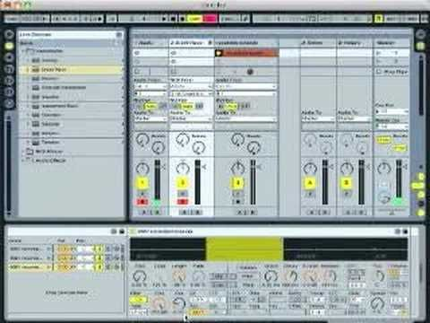 Ableton Live Tutorial - Found Sound Drum Kit (part 2)