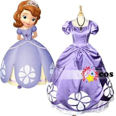 vestido de princesa sofia - Buscar con Google