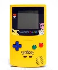 Game Boy Color System Pokemon – 配色