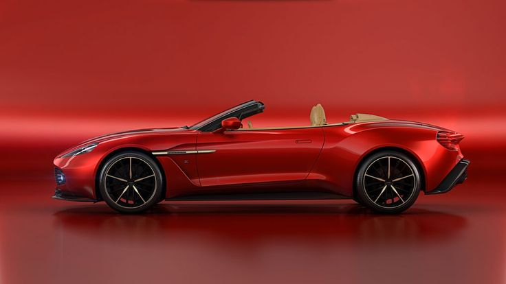 This is the Aston Martin Vanquish Zagato Volante. It's the drop-top version of the incredibly stunning Vanquish Zagato coupe that Aston unveiled earlier this year.  Unveiled at Pebble Beach this...