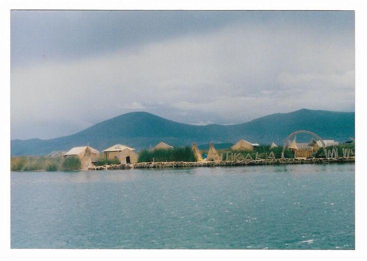 Zenit 122 Lago Titicaca, Perú