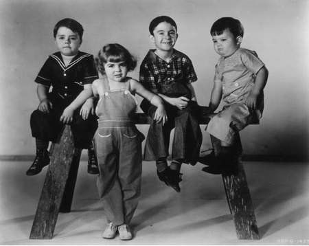 Spanky and Our Gang -- one of the shows I used to watch when we first got a TV about 1955.