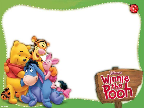 Marcos transparentes de Winnie Pooh para fotos - Imagui