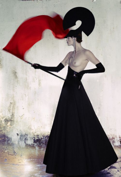 Nick Knight for Gareth Pugh For The Sunday Times Style