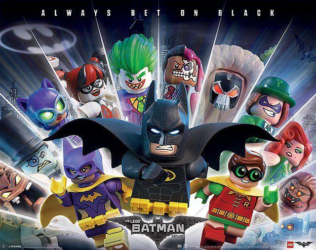 Affiches The LEGO Batman Movie