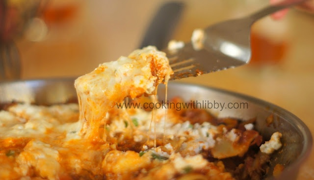 Creamy Skillet Lasagna: From Cooking With Libby