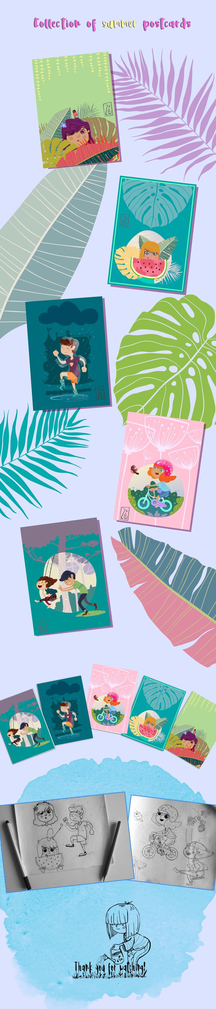 Ознакомьтесь с моим проектом @Behance: «Simple summer joy» https://www.behance.net/gallery/54845875/Simple-summer-joy