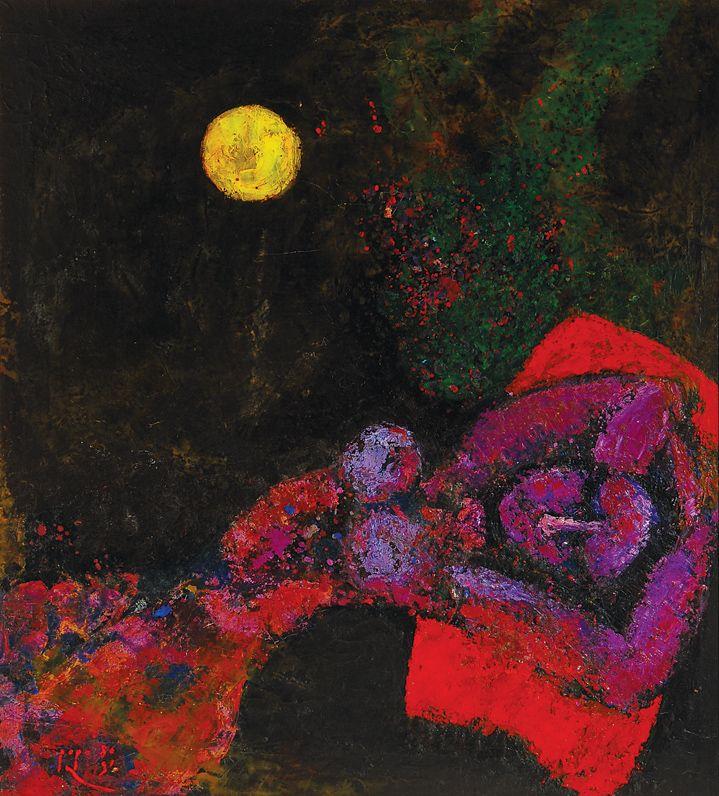 Popo Iskandar - The Dream (sold for $ 13,184)