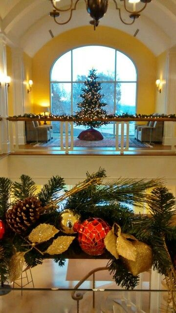 Student center is festive for the holidays · winston salemcollege