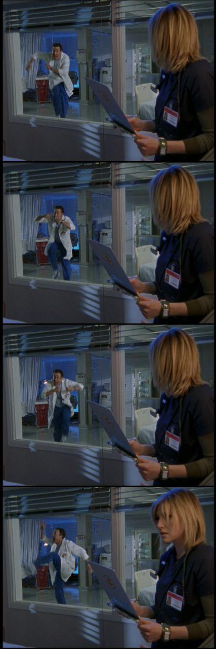 Dr. Cox dancing -Scrubs