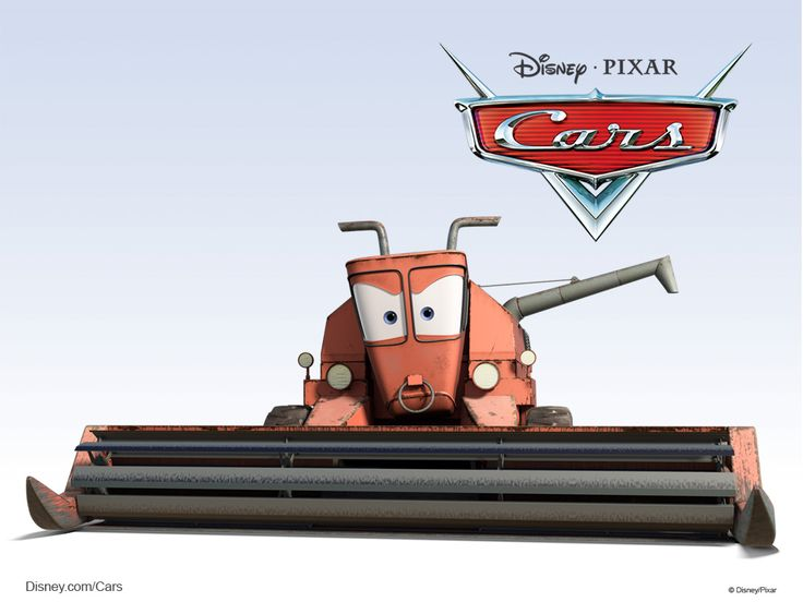 Disney/Pixar Cars Characters: Frank the Combine