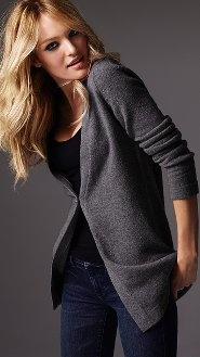everything i could ever ask for in a sweater: comfy, grey, cardigan