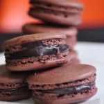 Chocolate Macarons Recipe: Kitchens, Easy Chocolate Macaroons, Chocolates, Chocolate Macarons Recipe, Food, Chocolate Macaroons Recipe, French Macarons, Macaroons Recipe Easy, Easy Macaroons Recipe French