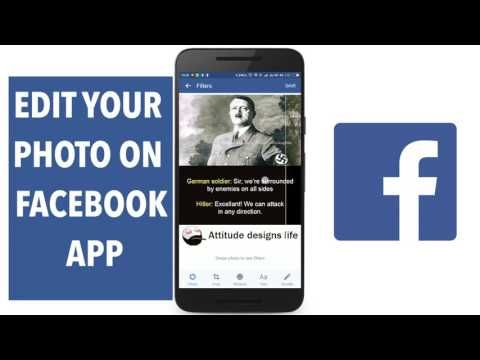 TOP How to Edit your Photo on Facebook Website and App - La tecnología del futuro - (More Info on: http://LIFEWAYSVILLAGE.COM/videos/top-how-to-edit-your-photo-on-facebook-website-and-app-la-tecnologia-del-futuro/)