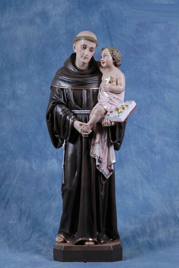Statua in resina di Sant  Antonio da Padova - MADE IN ITALY