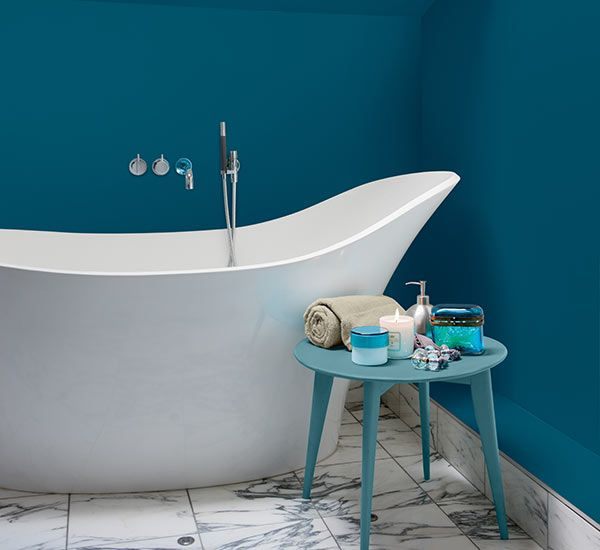 Pool Bathroom Colors: Color Of The Month, May 2015: Scuba Blue