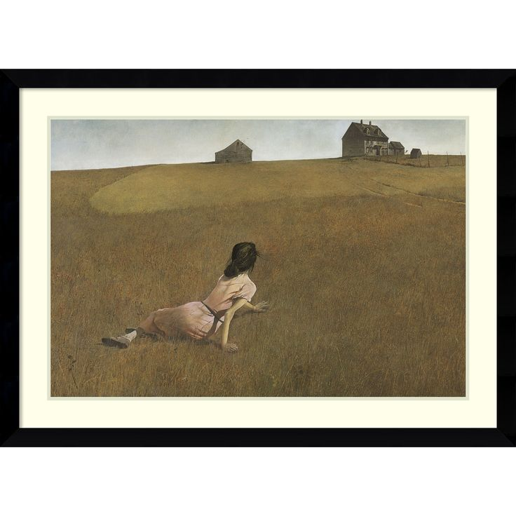 Andrew Wyeth 'Christina's World' Framed Art Print 43 x 31-inch