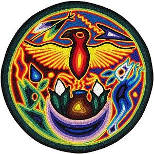 "Huichol Yarn Painting 8"""
