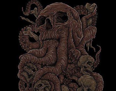 "Check out new work on my @Behance portfolio: ""skull"" http://be.net/gallery/51141909/skull"