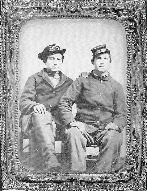 Jacob Wentzel and John F. Meyers were two of the Union cavalrymen from Ohio who were camped on the grounds of Henry Clay's Ashland estate when Confederate forces led by Gen. John Hunt Morgan attacked on Oct. 18, 1862.