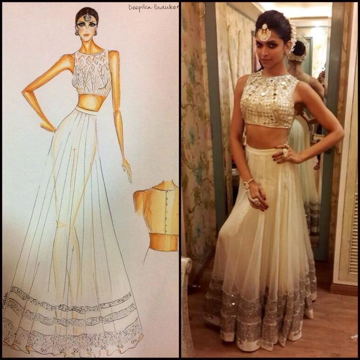 Second look for Deepika Padukone at Star screen awards performance in our mirrorwork crop choli and lahenga:) by Arpita Mehta