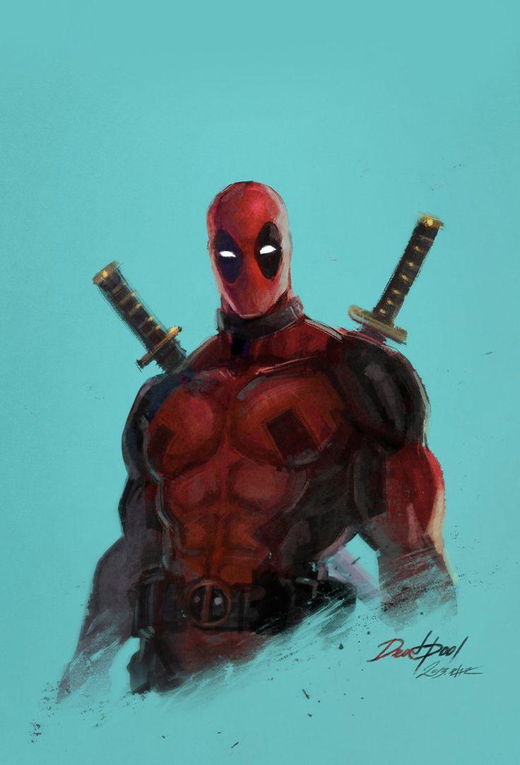 Deadpool by ~eliz7 on deviantART